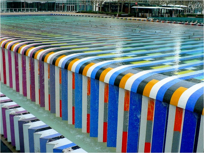 Fontaine d'Agam ~ La Défense à Paris ...