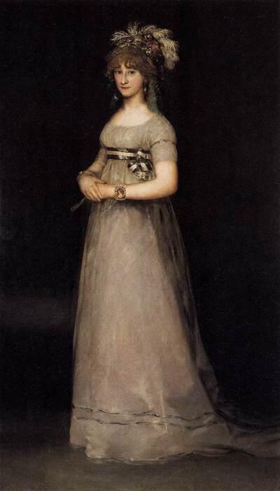 Goya 3 /  Portraits royaux ... portraits de cour...