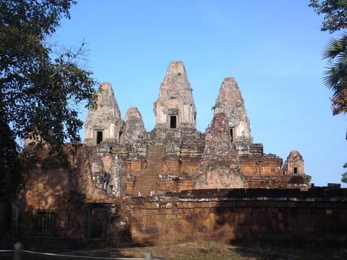 Les temples d'Ankor