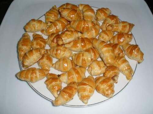 Minis croissants au thon