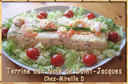 Terrine aux Noix de Saint-Jacques