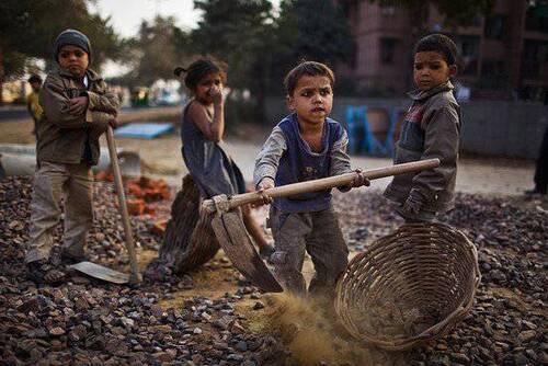 Cessez de soutenir l'esclavage des enfants
