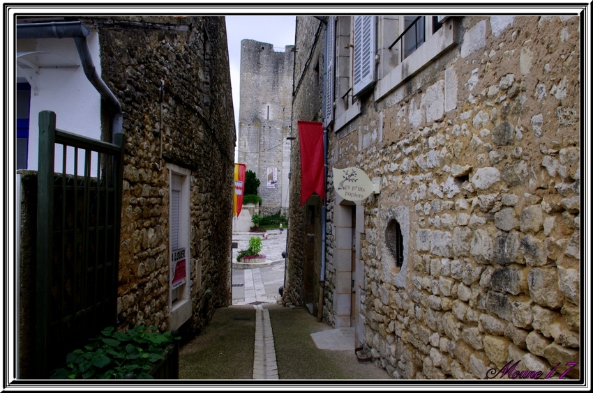 Cité médiévale de Chauvigny dans la Vienne