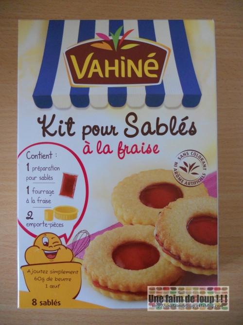 Kit pour sablés à la fraise - Vahiné