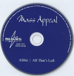 MASS APPEAL - ALIBIS (EP 2000)