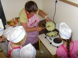 Atelier-cuisine : la tarte aux courgettes