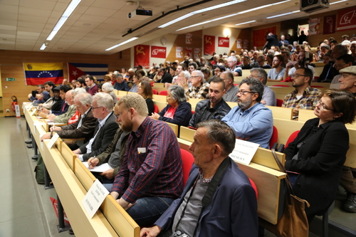 GRAND SUCCES du MEETING du P.R.C.F. commémorant la REVOLUTION D'OCTOBRE (5/11/2017)