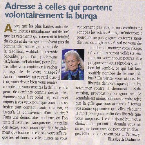 Elisabeth Badinter : l'intelligence des mots !