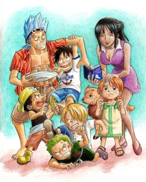Mugiwaras enfants