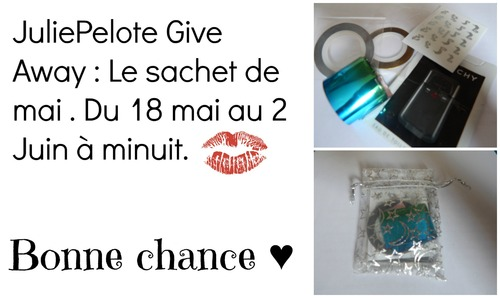 Roulement de tambour : Give away de mai !