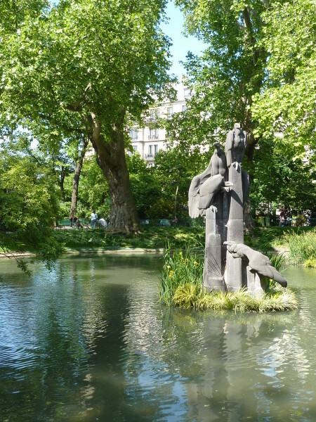32 - Jardin des Batignoles - les rapaces
