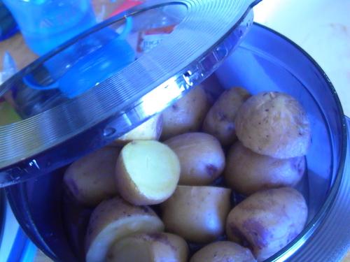 Pomme de terre à la vapeur