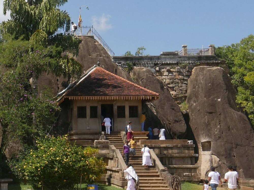 Temple Isurumuniya - Sri Lanka