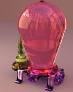 Bélier dessiné avec logiciel 3D