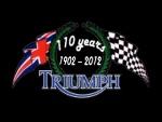"""Fonds d'écran """"Hommage aux 110 ans de Triumph"""""""