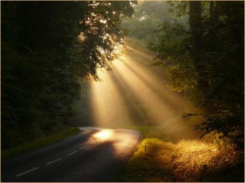 Un rayon lumineux
