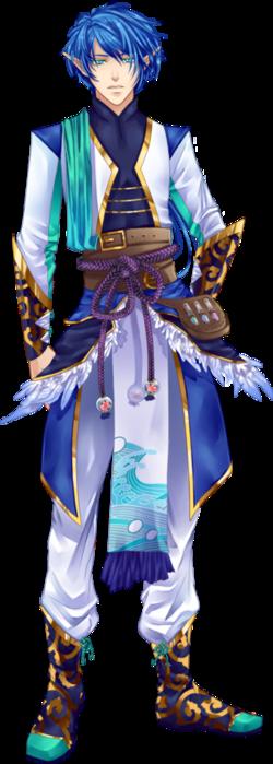Ezarel, le chef de la garde Absynthe.