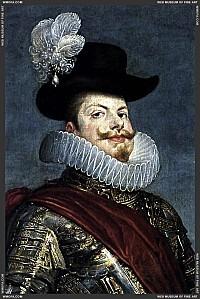 Philip III on Horseback - detail - 1634-1635