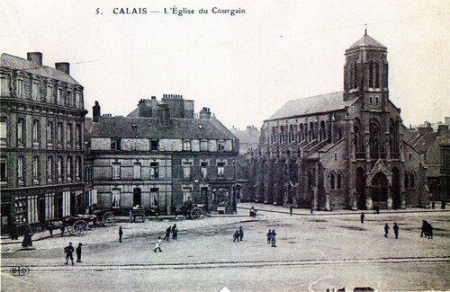 L'église du Courgain
