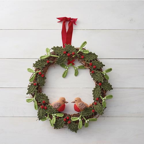 Couronnes de Noël au crochet
