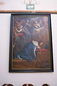 Saint Louis vénérant la couronne d'épines