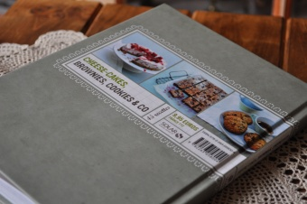 Un nouveau livre: Cheese-cake, brownies, cookies & CO