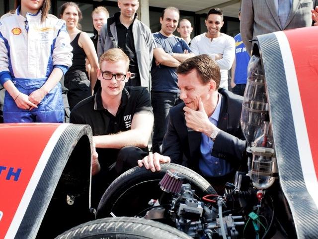 Joachim et l'éco-carburant