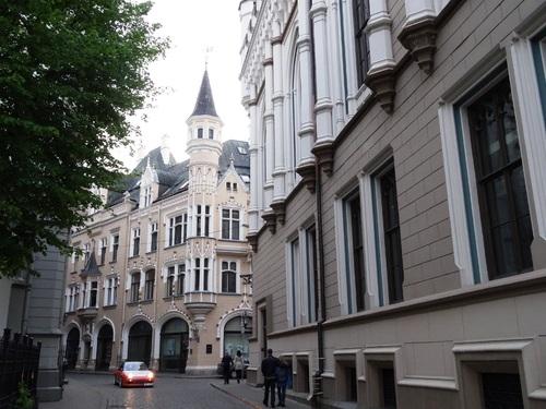 Riga: atour de la Maison des çats que z'ai détestée (photos)