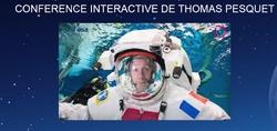 Thomas Pesquet en DIRECT LIVE au Collège Grange