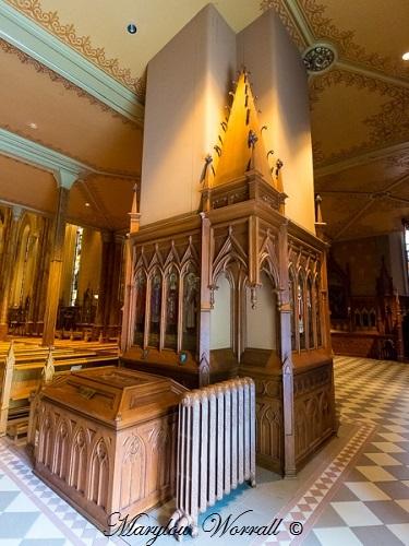 Montréal : Basilique Saint-Patrick