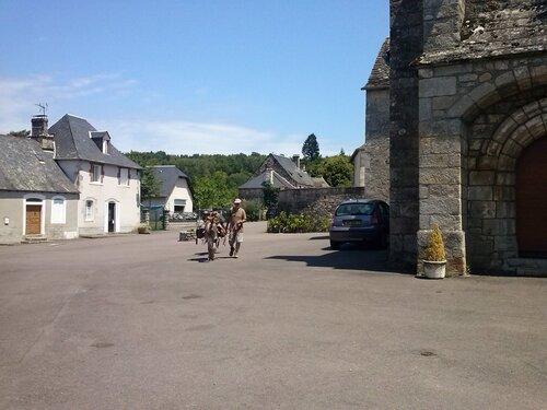 La Dordogne avec nos ânesses: suite et fin...
