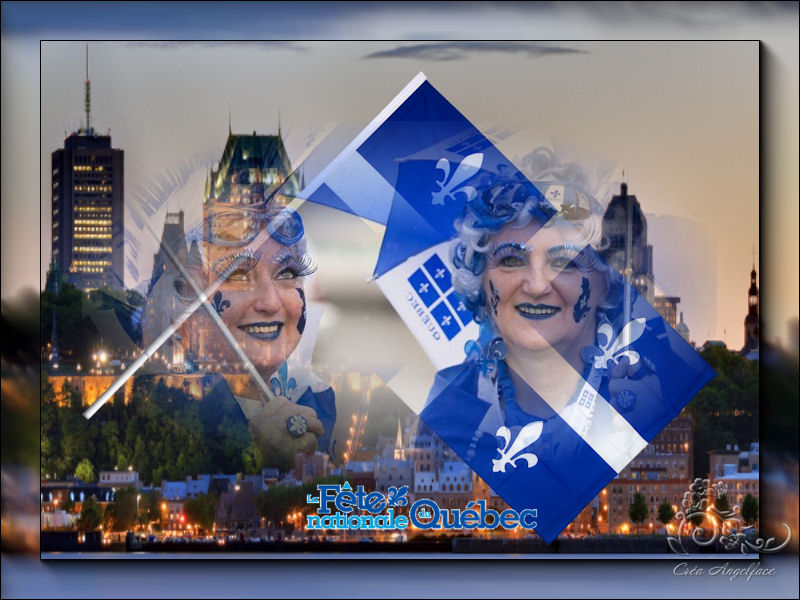 Fête Nationale du Québec 24 juin