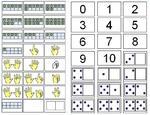 Numération CP :manipulation, cartes jeux, représentations, références