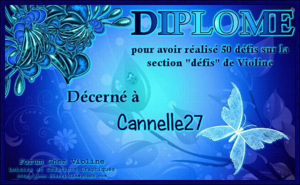 """Diplôme 50 défis"""