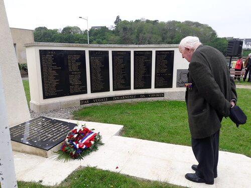 * commémoration de la Victoire du 8 Mai dans nos régions...