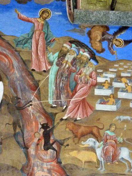 Jour 3 - Rila monastère - le Jugement dernier détail