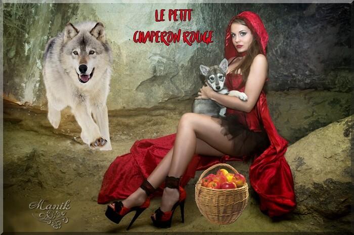le petit chaperon rouge défi Marjolaine !