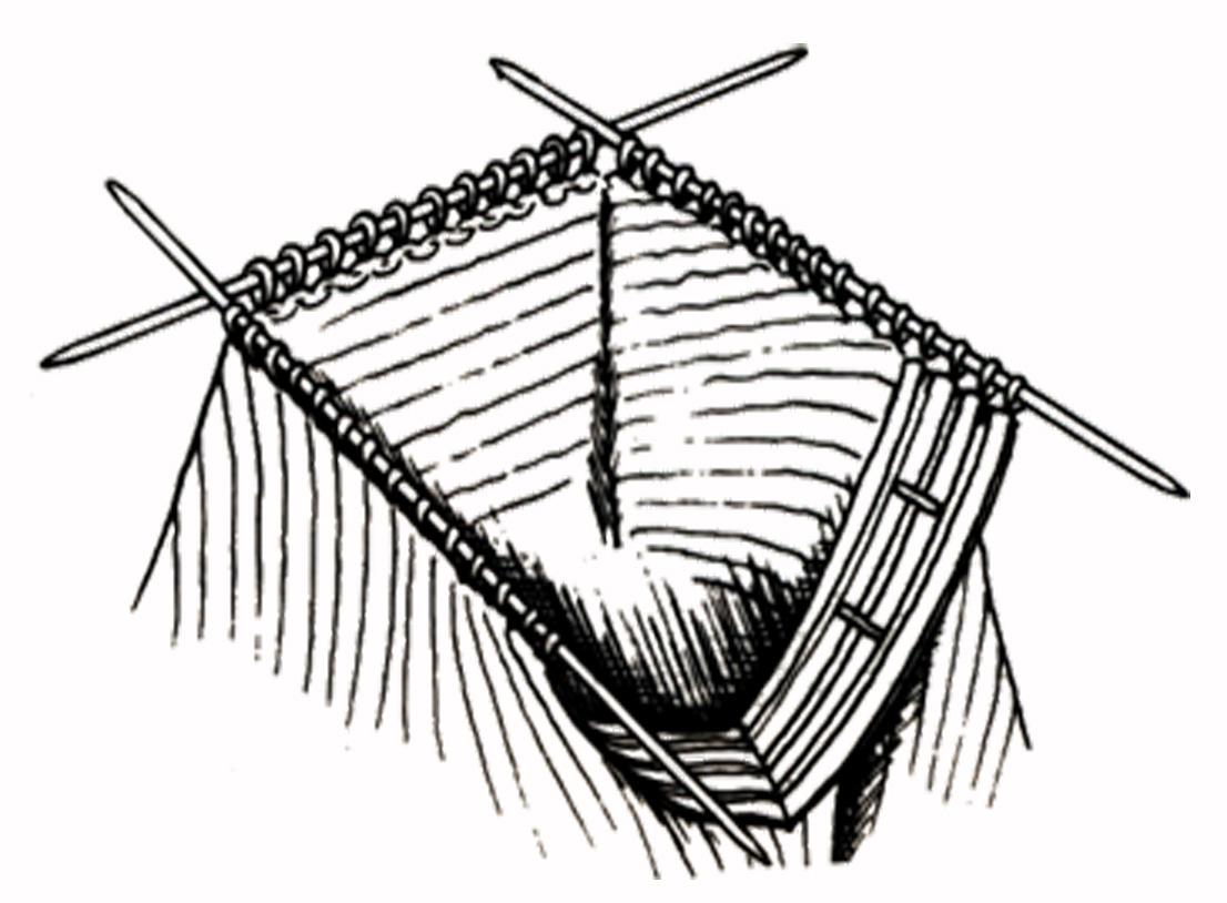 comment coudre les epaules au tricot. Black Bedroom Furniture Sets. Home Design Ideas