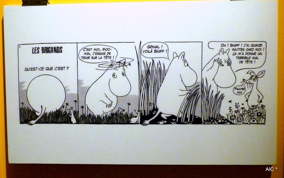 Les brigands (avec Moomin et Sniff)