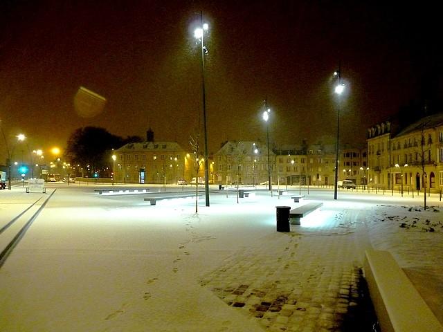 Metz sous,la neige 11 Marc de Metz 16 01 2013