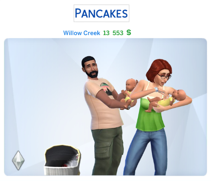 Semaine 2 - Quartier Willow Creek - Foyer Pancakes