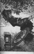 Le hamac (The Hammock) - James Jacques Joseph Tissot - www.jamestissot.org