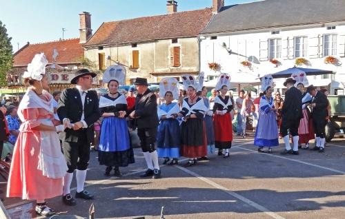 La fête de la pomme 2011 à Laignes...