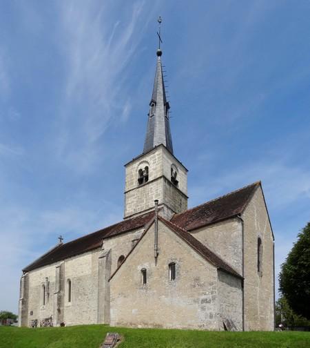 L'église de Griselles