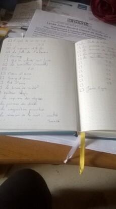 "Cette semaine je ""liste"" - Défi Agoaye"