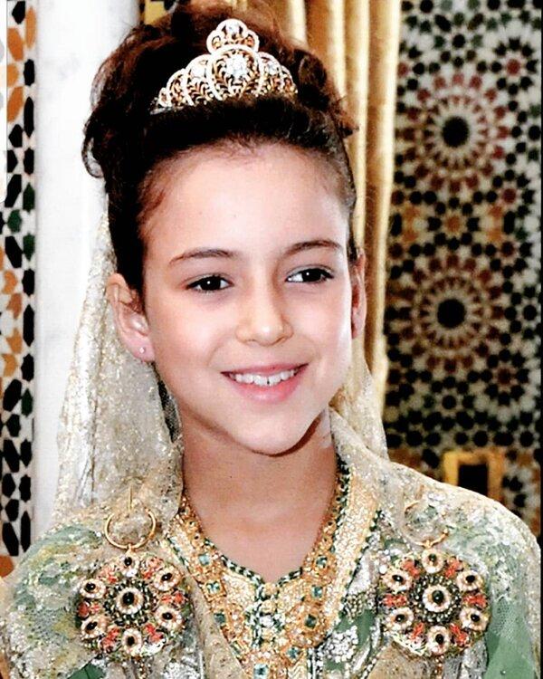 La fille du roi du Maroc