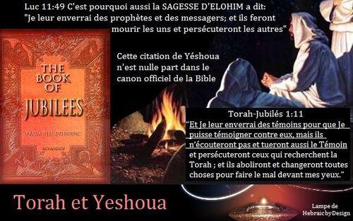 Livre des Jubilés Livre oublié de la Torah
