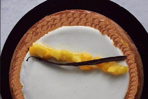 Crémeux vanille à la crème d'amande