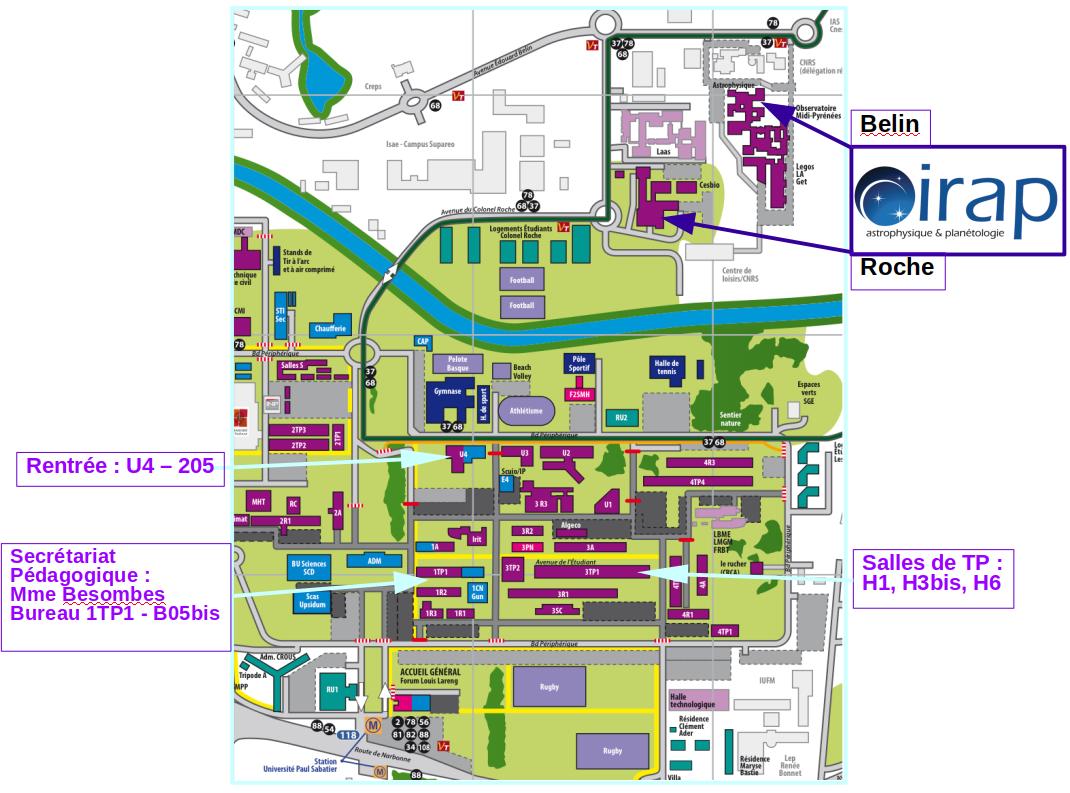 Calendrier Universitaire Paul Sabatier 2019 2020.M1 Sciences De L Univers Et Technologies Spatiales M1 Suts