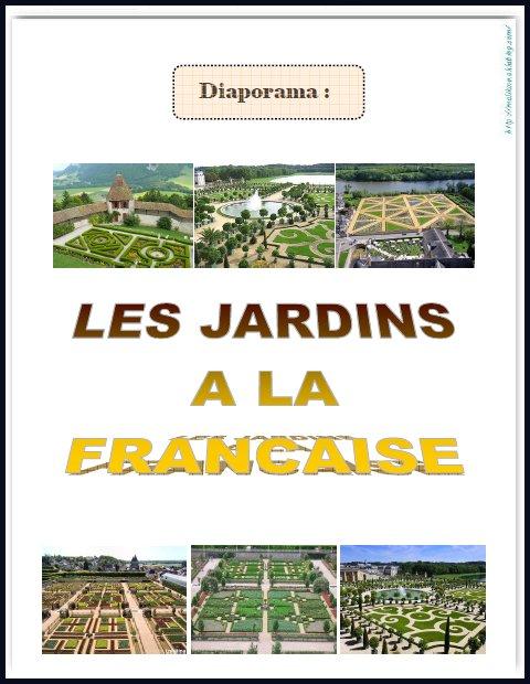 Arts Visuels Les Jardins A La Francaise Chez Maliluno